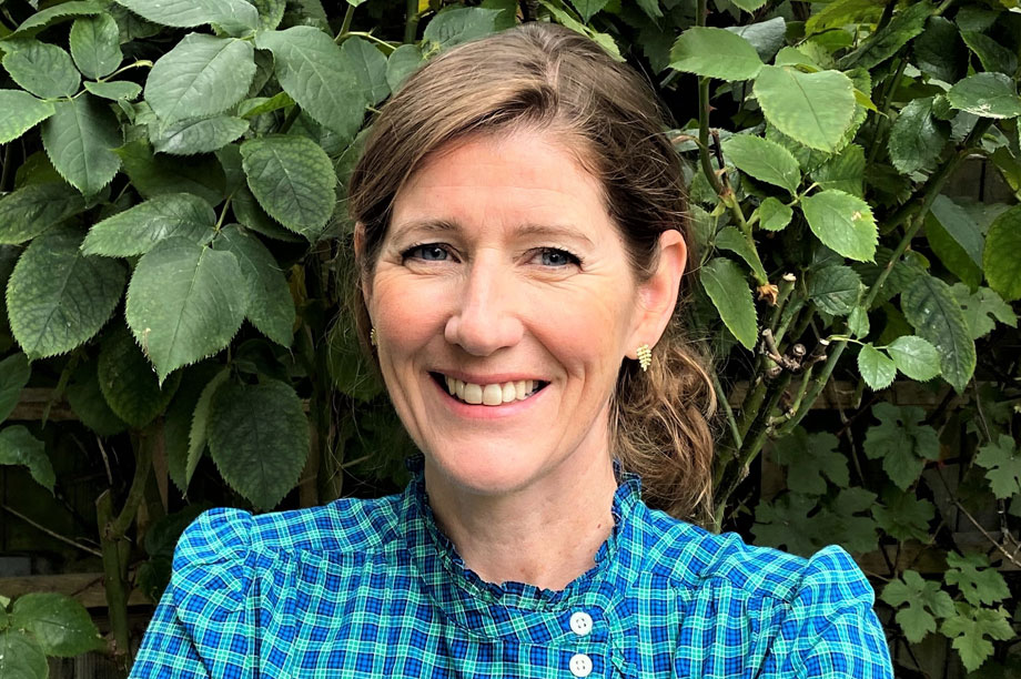 The new chief planner, Joanna Averley