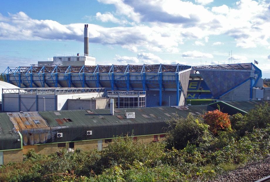 Millwall's 'The Den' stadium at South Bermondsey (pic: diamond geezer via Flickr)
