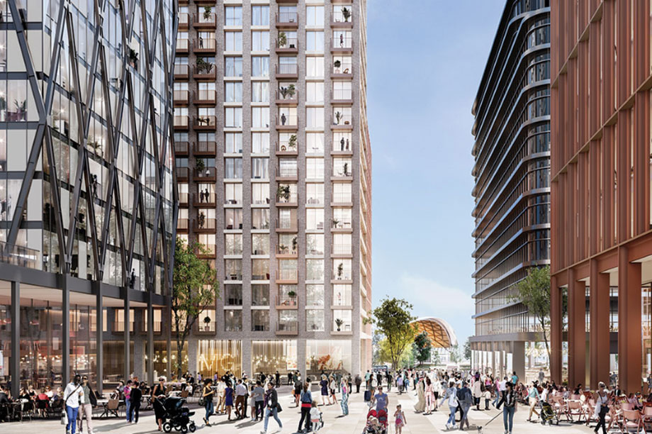 A visualisation of the finished Martineau Galleries development (pic: Hammerson)