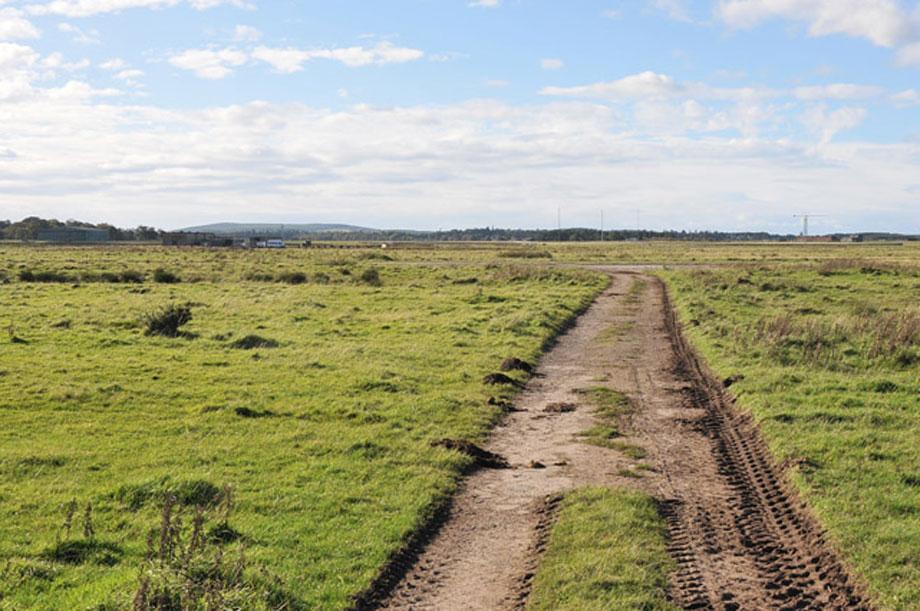 Milltown Airfield (pic: Steven Brown via Geograph)
