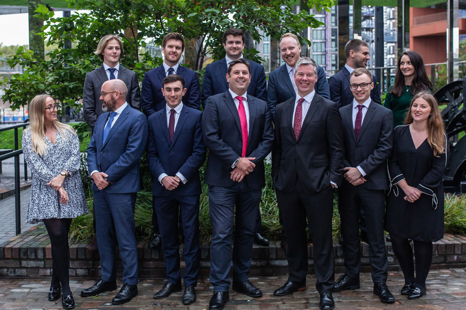 The new Knight Frank planning team