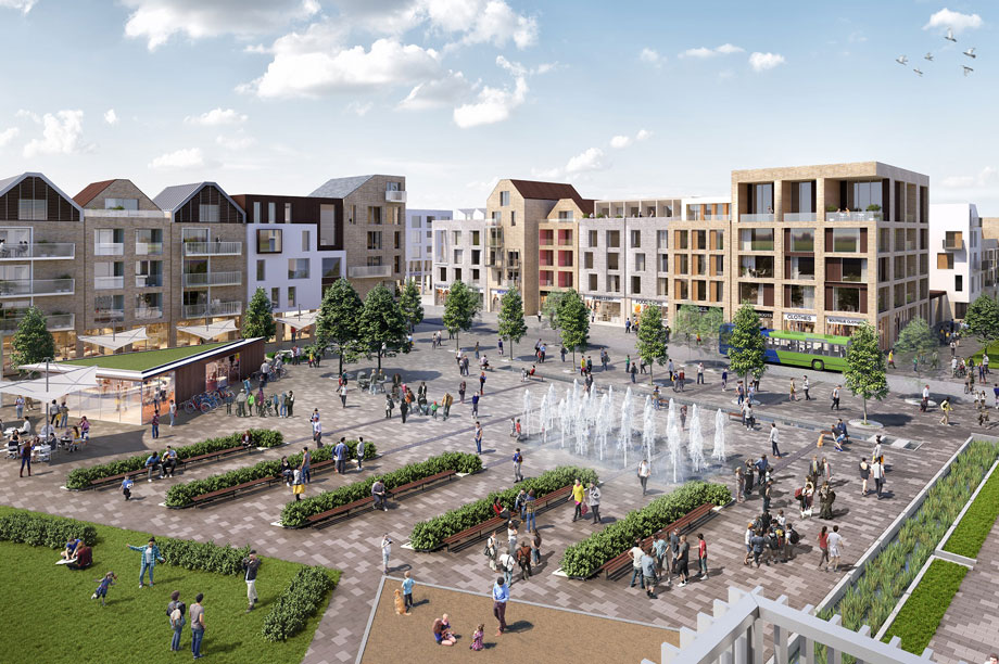 Northstowe: revised affordable housing provision approved