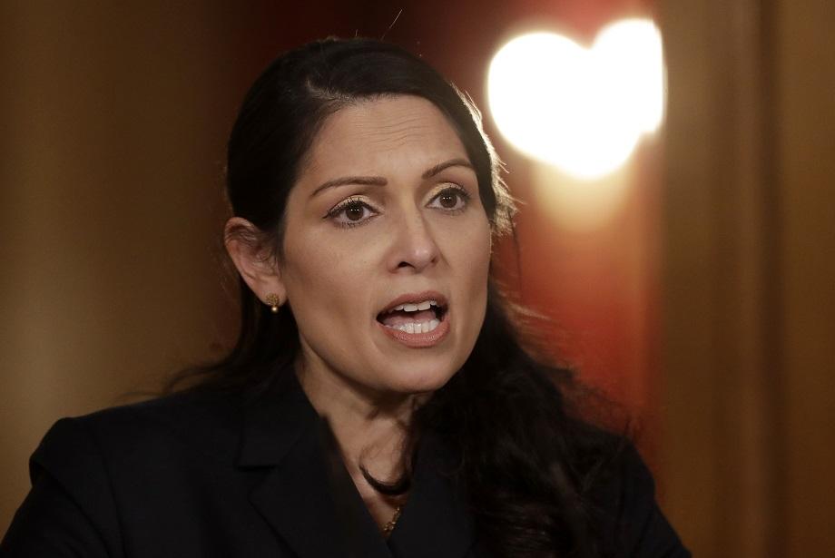Home secretary Priti Patel. Pic: Getty Images