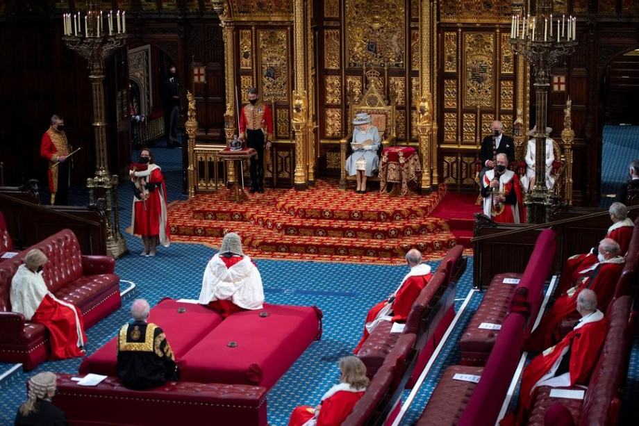 The Queen's Speech was delivered this morning - image: Getty