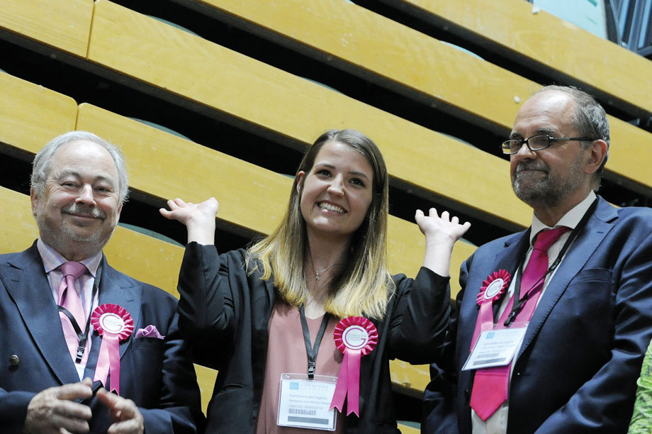 Residents for Guildford and Villages: the independent group won 15 seats on Guildford Council (pic: SURREY LIVE/DARREN PEPE)