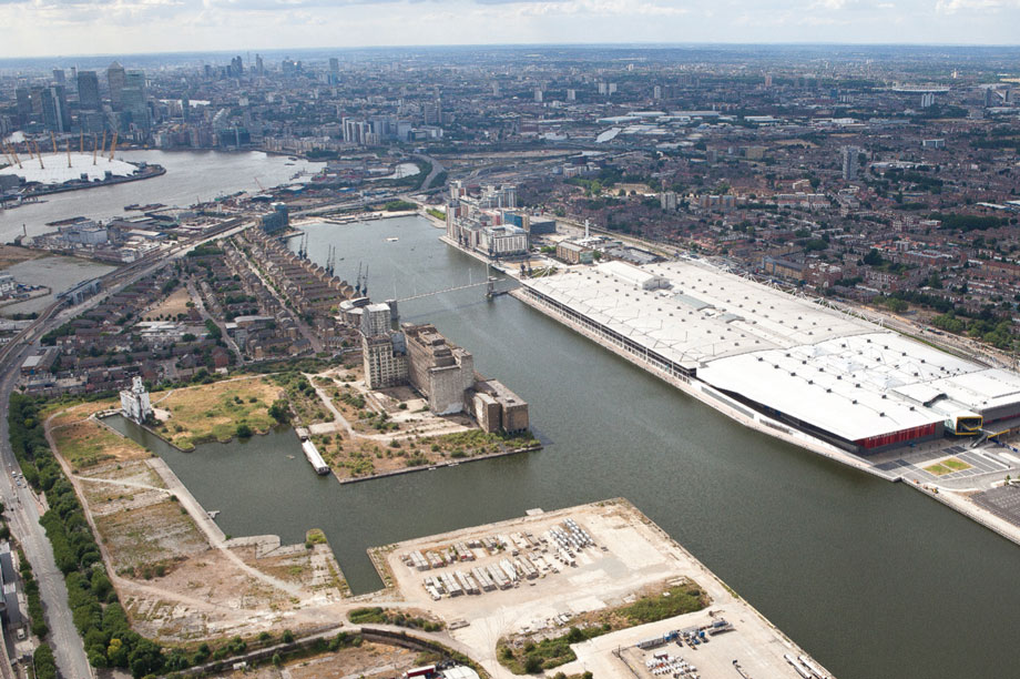 Royal Albert Docks: in the running for Planning Permission of the Year award