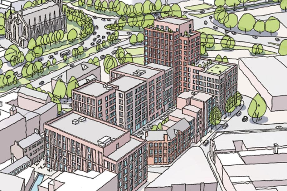 A visualisation of the finished development (Pic: PLATFORM_)