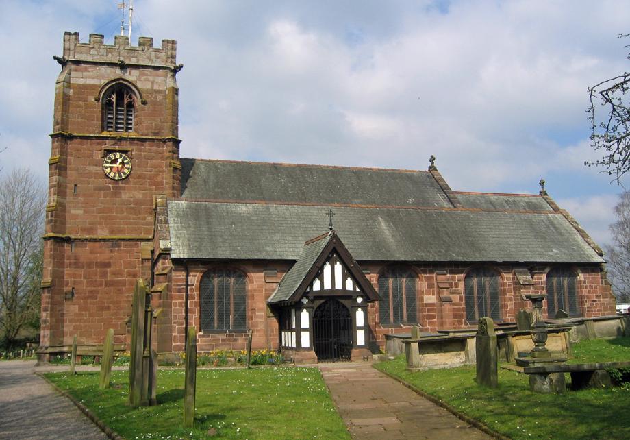 St Alban's church, Tattenhall, Cheshire