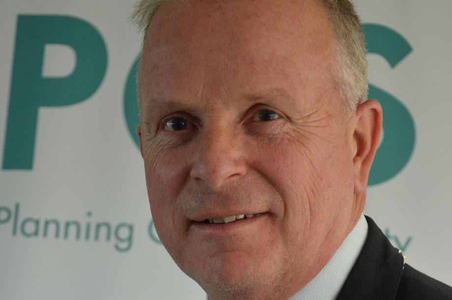 Planning Officers' Society president, Steve Ingram