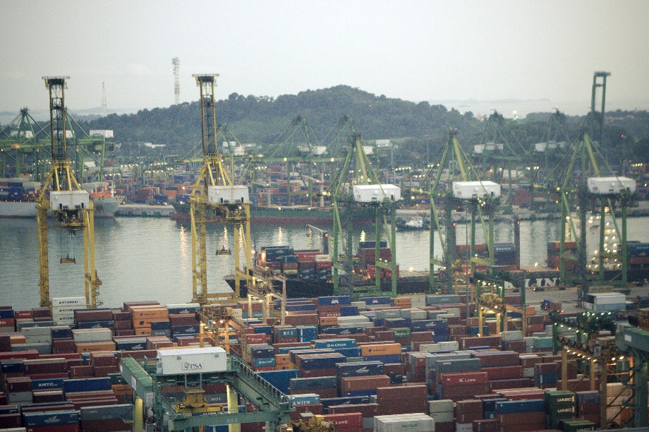 A port in Singapore, often held up as a model of free trade - image: Jirka Matousek / Flickr (CC BY 2.0)