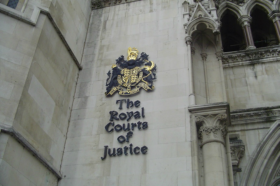 The Royal Courts of Justice, London