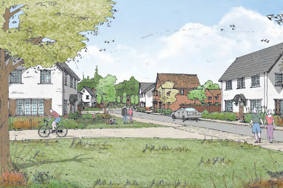 A visualisation of the finished Bloor Homes scheme (pic: Bloor Homes)