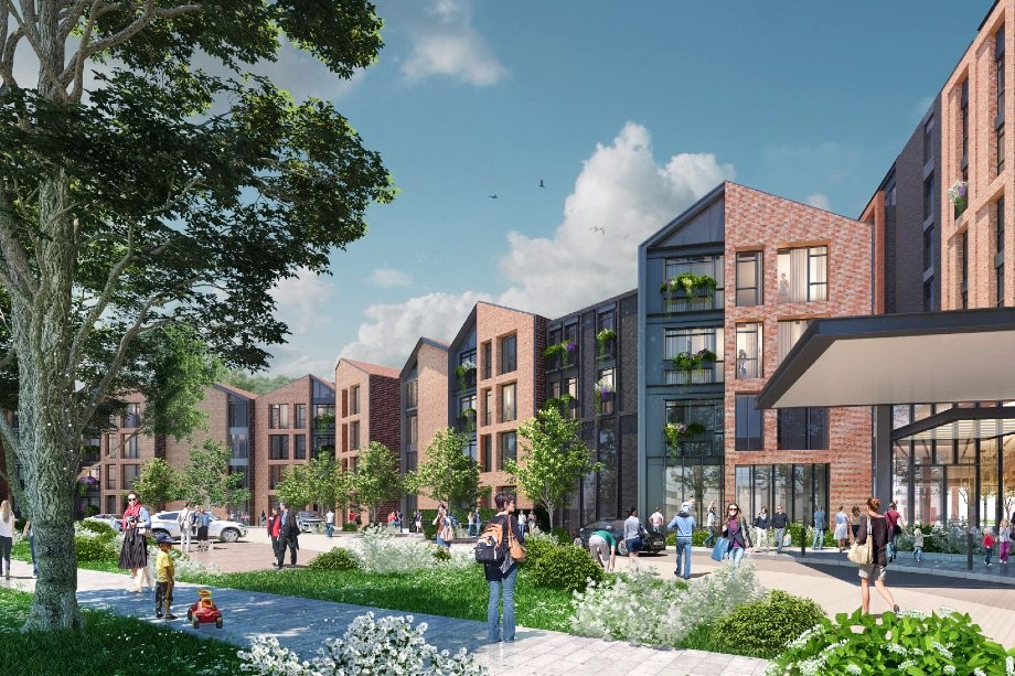 Visualisation of the retirement housing scheme (Pic: Blackstock Consulting/Guild Living)