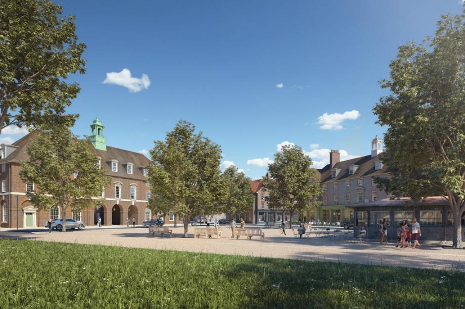 Welborne: One of 21 garden settlements allocated a share of £6 million. Image: Welborne Garden Village