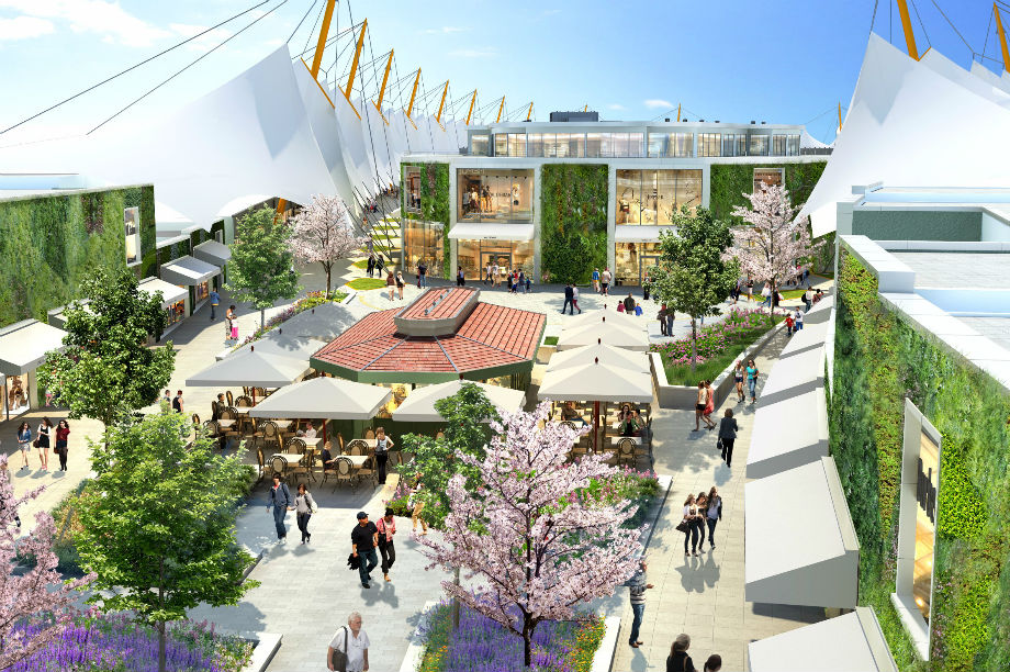 Mall expansion: application has been granted full planning permission