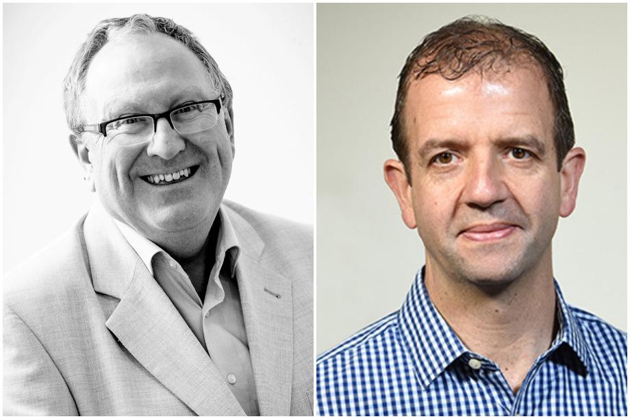 Tony Bateman (left) and Jim Tarzey (Pic: Pegasus Group)