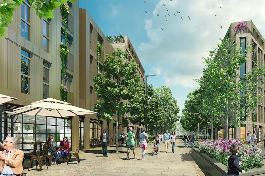 The proposed scheme in Bath (Pic: Nexus Planning)