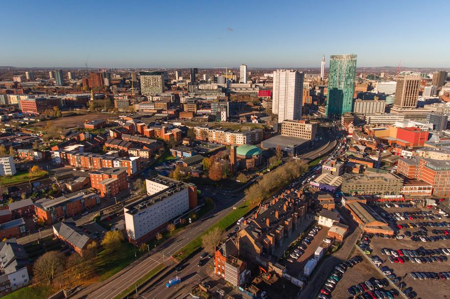 The city of Birmingham (Pic: Urban Intelligence)