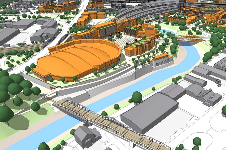 Bristol Arena: scheme secured planning consent last year