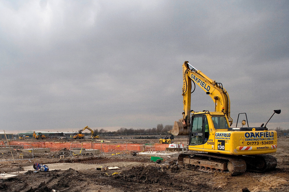 Brownfeld build: Osborne says eased planning rules will deliver 200,000 new homes