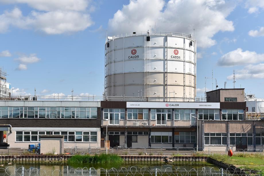 Calor Gas Ltd storage tanks in Canvey Island, Essex (Pic: Getty)