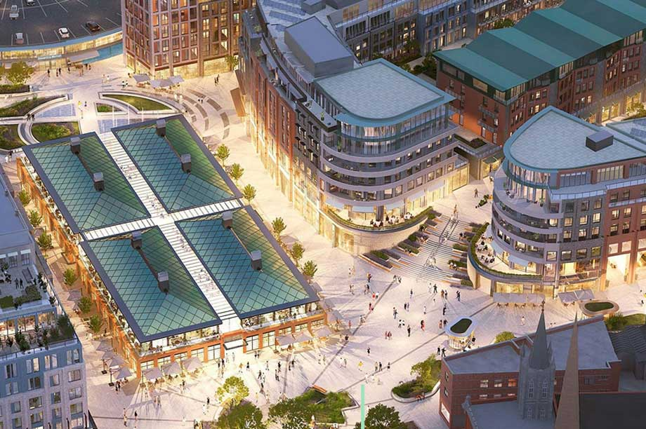 A visualisation of the finished City Centre South scheme in Coventry (pic: Shearer Property Regen Limited)
