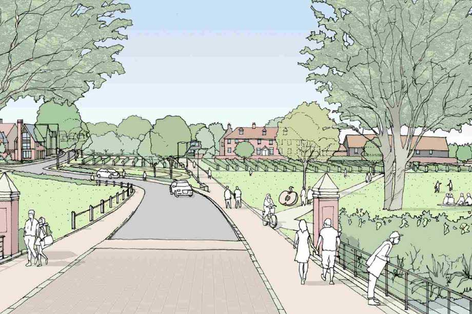 A visualisation of the finished scheme (pic: CEG)