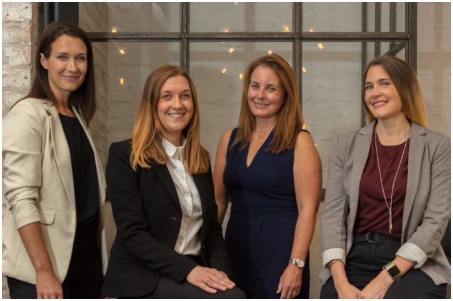 From left: Becki Hinchliffe, founding director; Anna Benksy, director; Donna Barber, founding director; Nicole Roe, director (Pic: Eden Planning)