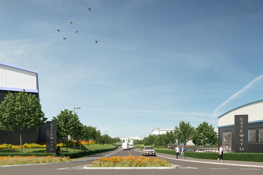 A visualisation of the proposed Gateway 14 scheme. Pic: Avison Young