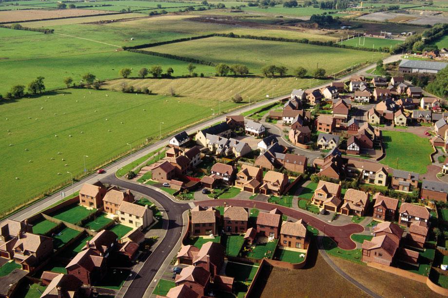 Green belt: 0.3 per cent drop in size across England last year