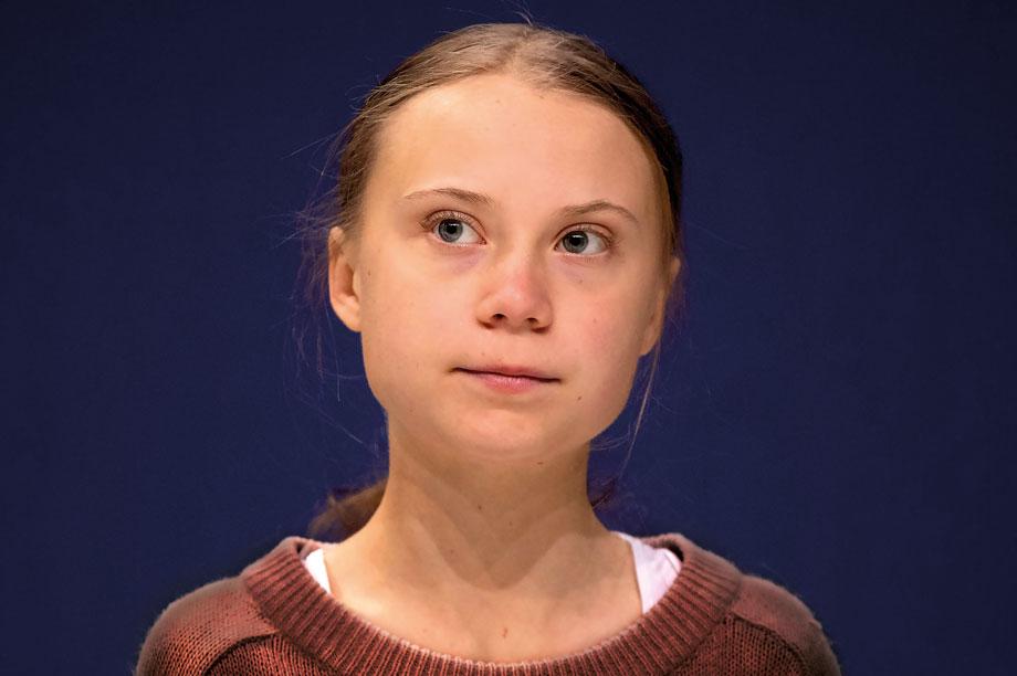 Greta Thunberg: campaigner blasted 'absurd' UK planning laws (pic: Getty)