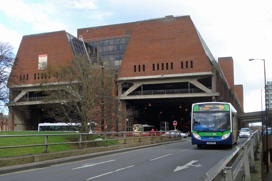 Greyfriars bus station: demolished in 2015