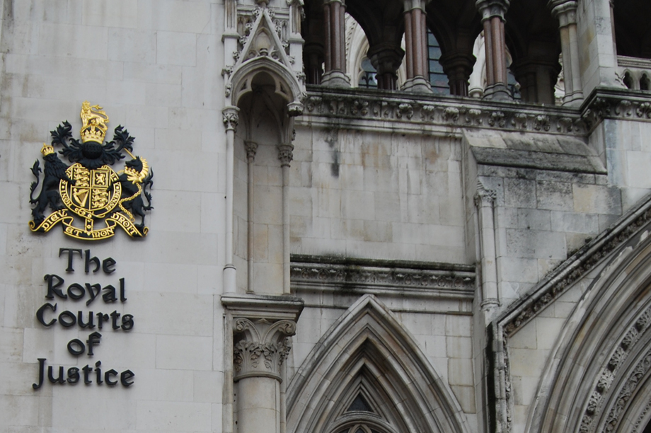 Royal Courts of Justice: 2016 saw some major court rulings