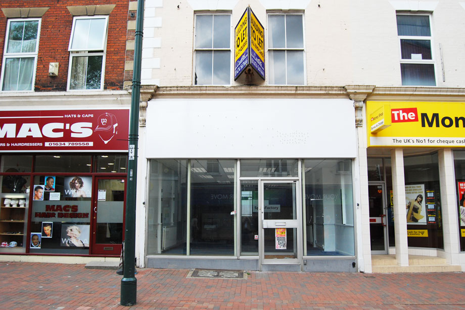 Empty units: Government argues new PDR will breath new life into town centres