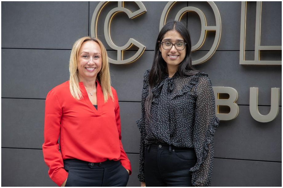New director Gemma Jenkinson (left) and assistant planner Simran Kang (Pic: Iceni Projects)