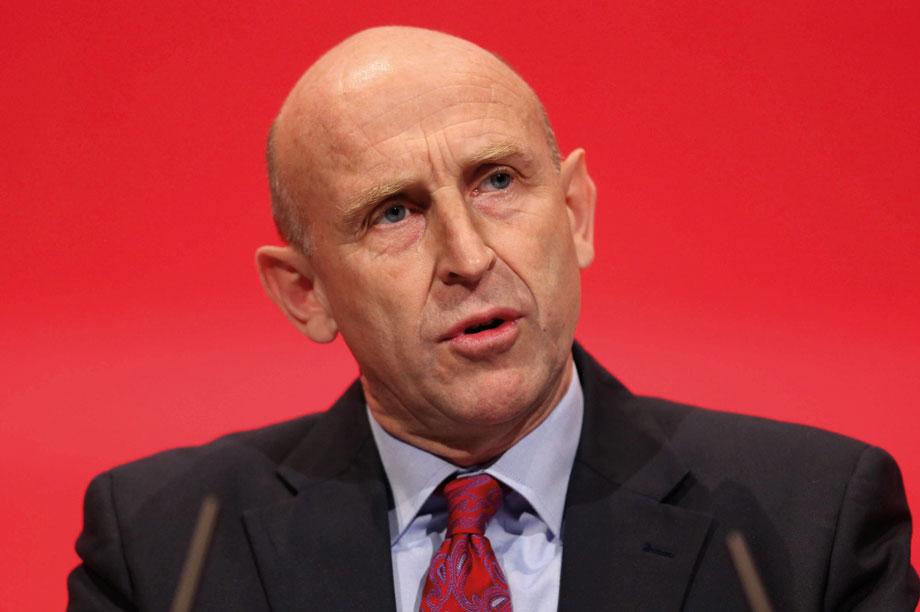 Shadow housing secretary John Healey