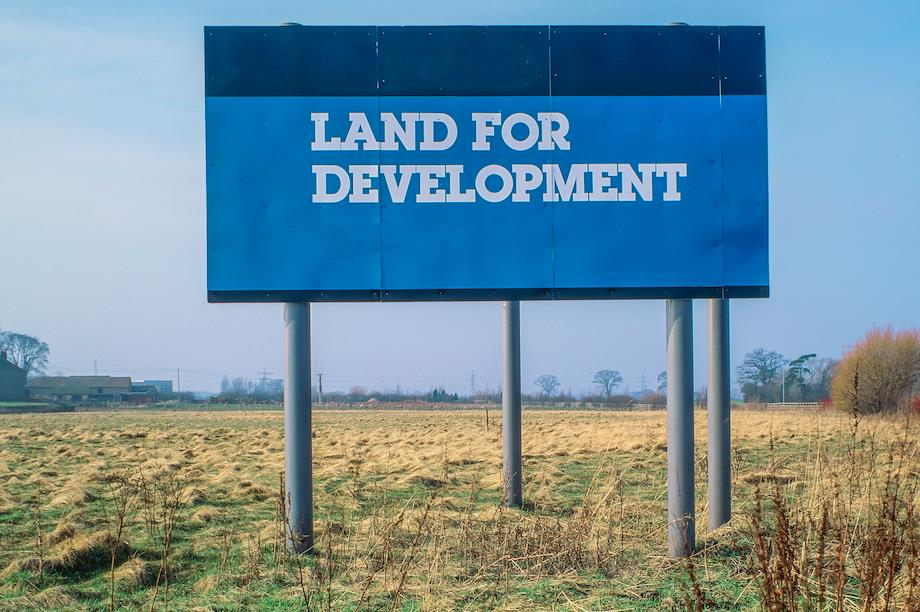 Land for development: The RPDT would apply to land where planning permission is being sought or has been granted (Pic: Getty)