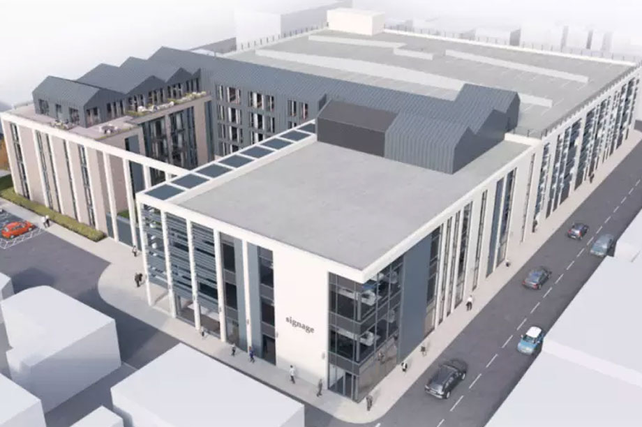 A visualisation of the finished Russell Street development