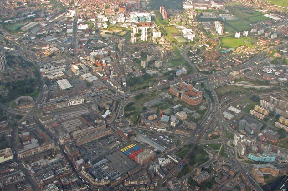 Leeds city centre (pic: Steven Feather, Flickr, CC BY-SA 2.0)