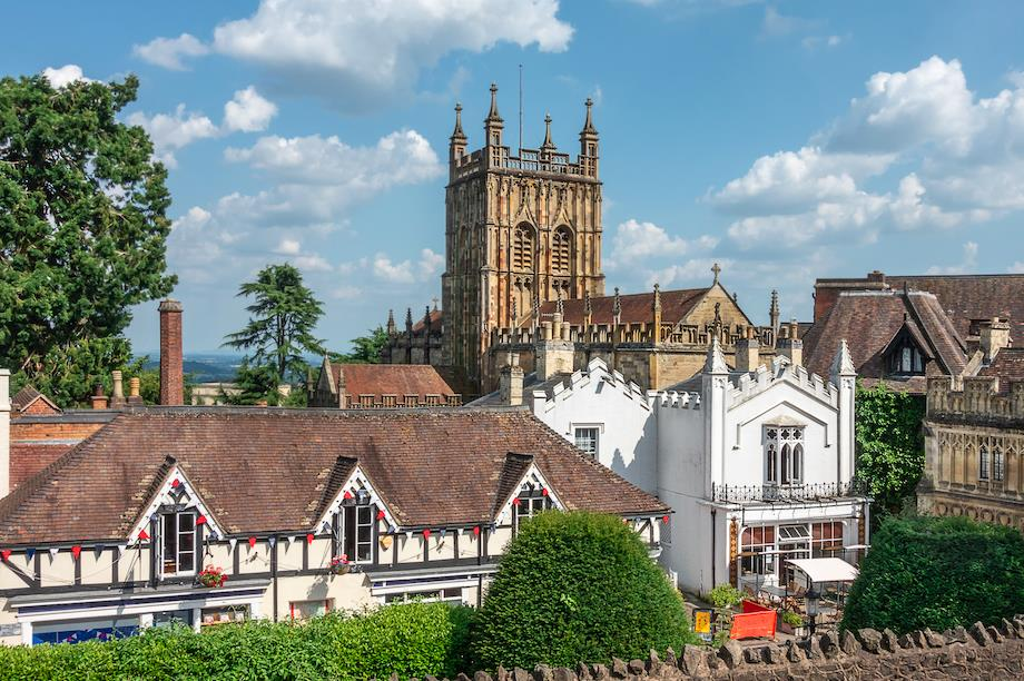 Great Malvern town on the River Leam, Worcestershire (Pic: Getty)