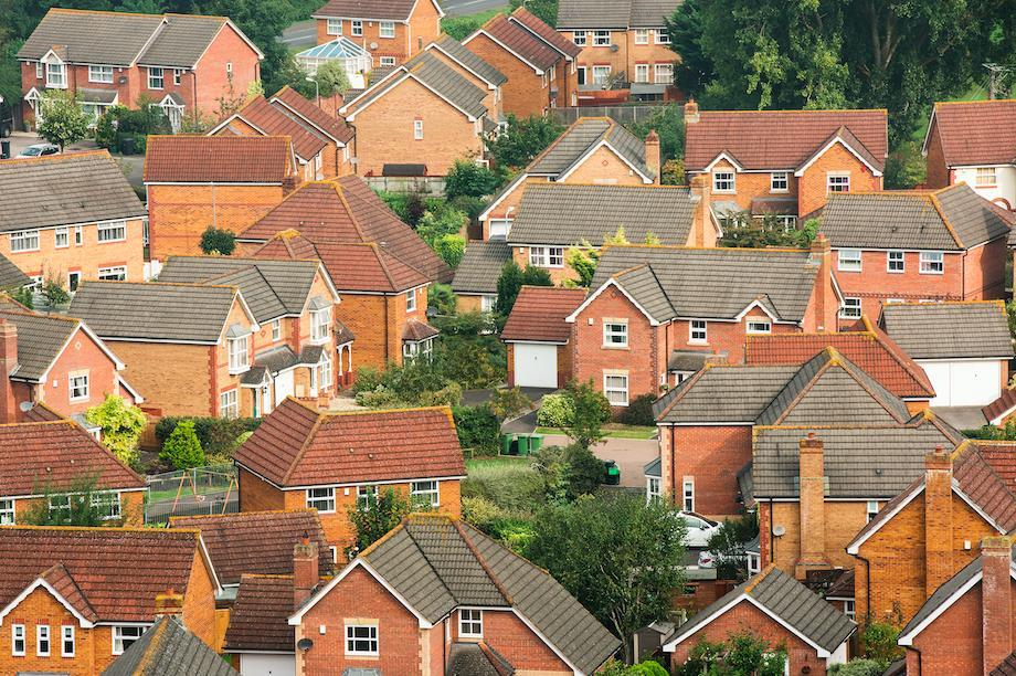 A suburban neighbourhood (Pic: Getty)