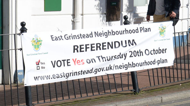 Neighbourhood planning: Government grants for councils' duties remain unchanged