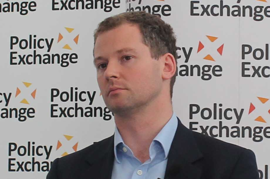 O'Brien pictured in 2012 (Policy Exchange)