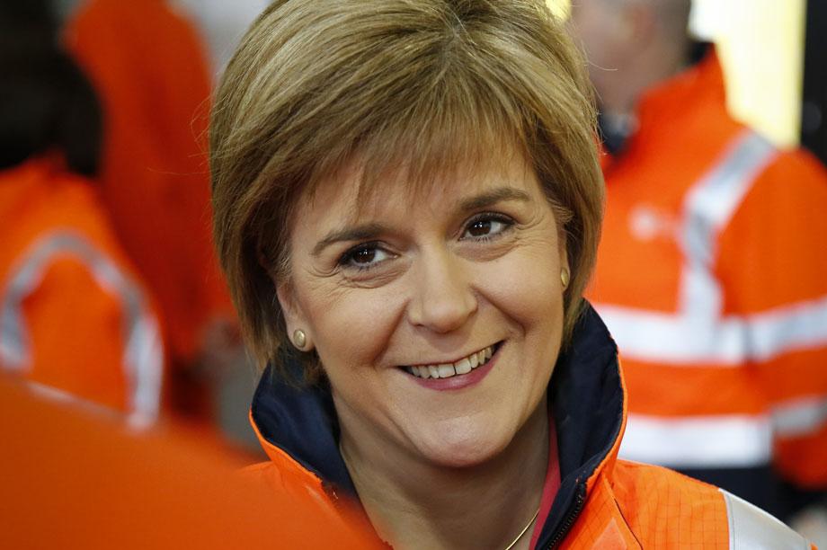 Scottish first minister Nicola Sturgeon (pic: First Minister of Scotland)