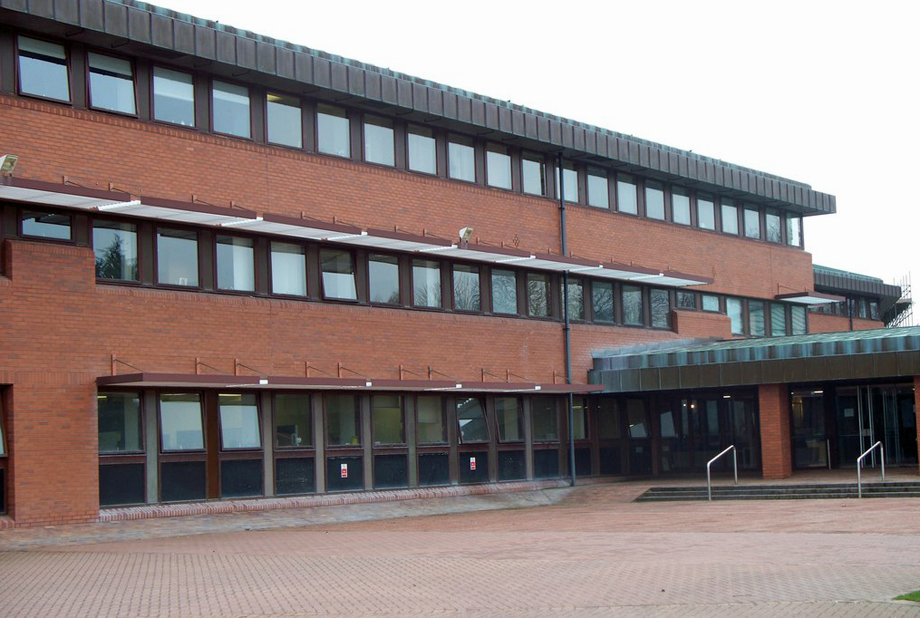 Northumberland County Hall. Image by David Clark, geograph.org.uk