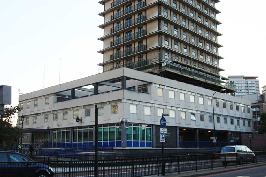 The former Paddington Green Police Station: 'Architecturally harmful' (pic: cc-by-sa/2.0 - © Oxyman - geograph.org.uk/p/529402)