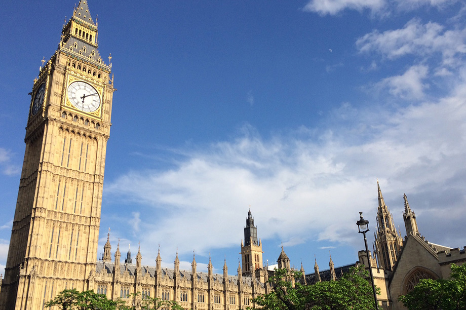 Houses of Parliament: bill to reach report stage on 13 December