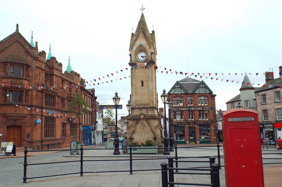 Penrith: the 'main town' identified in Eden District Council's new local plan (pic: Malc McDonald via Geograph)