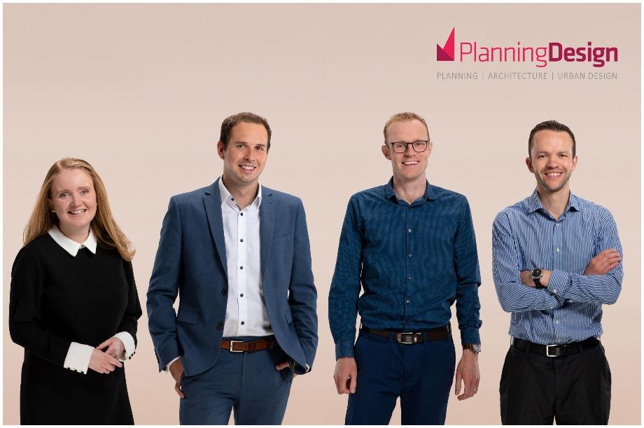 L-R: Lindsay Cruddas, Michael Bamford, Jon Millhouse and Richard Pigott (Pic: Planning & Design)