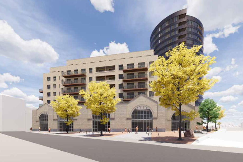 A visualisation of the development (pic: CZWG ARCHITECTS LLP)